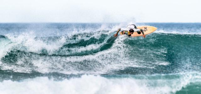 Marlon Gerber in der Welle