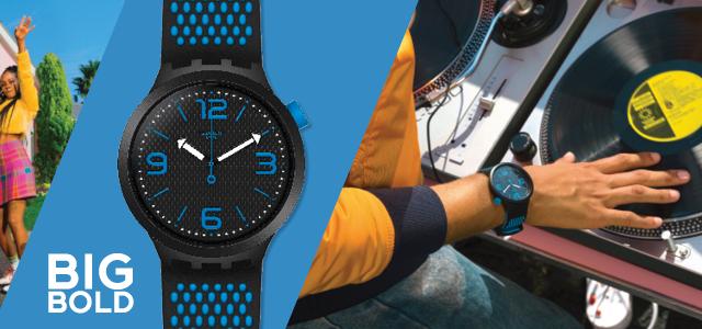 Swatch Uhr Werbung