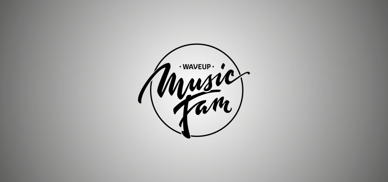 logo waveup music fam