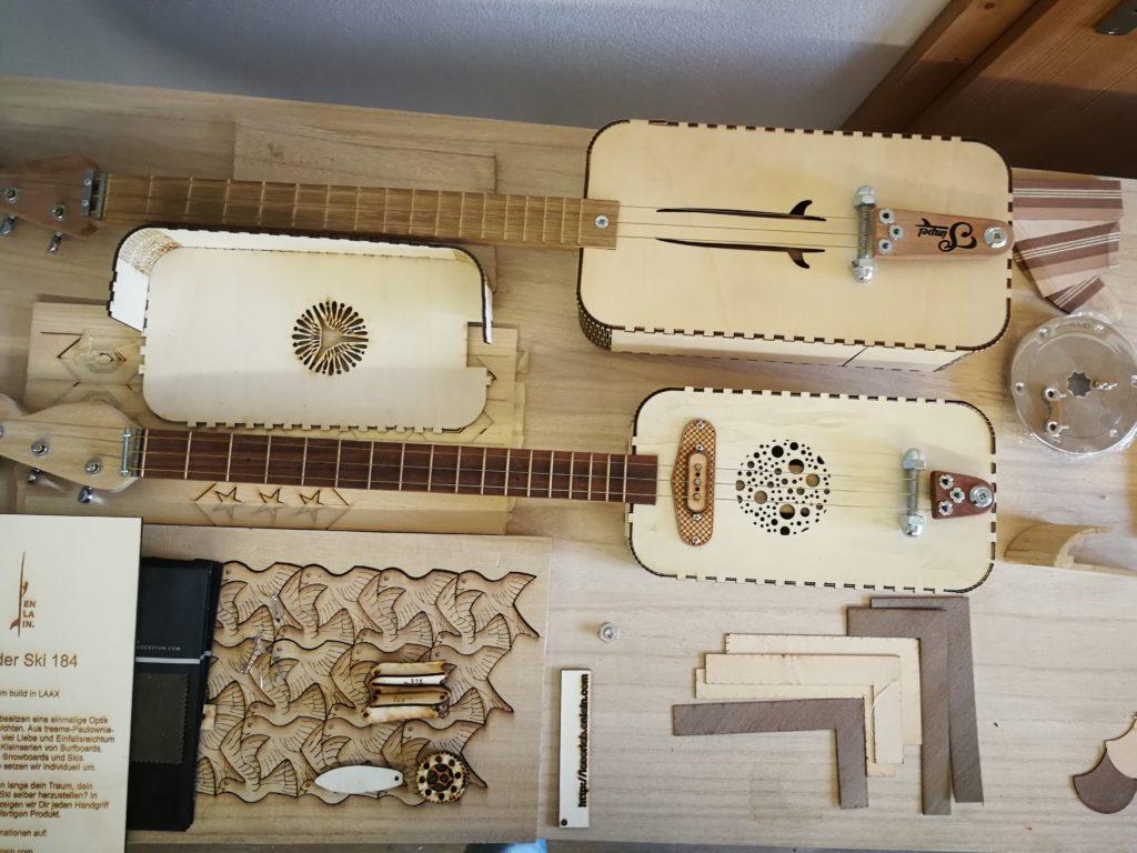 Gitarren aus Holz von Enlain