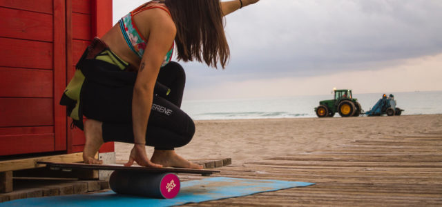 Surftraining auf einem Balance Board