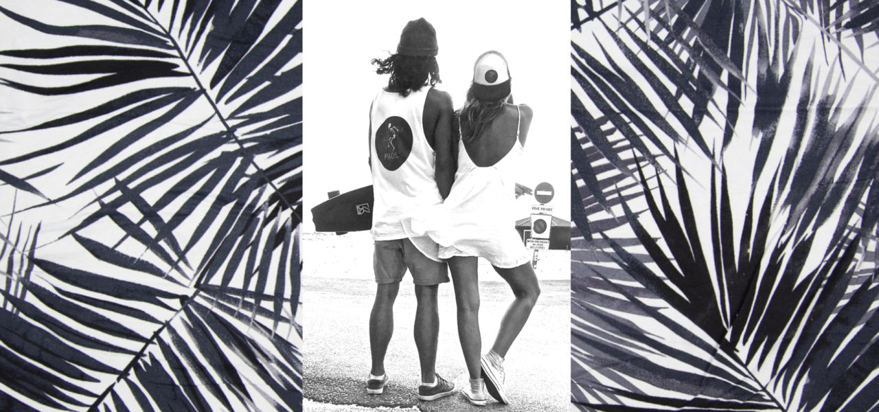 Adi und Terry am Strand
