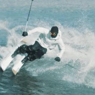 Candide Thovex on Ski Wave