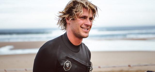 Swiss Surfer Luca Carlisle