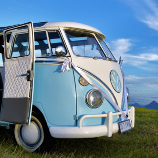 VW Bus Work and Travel