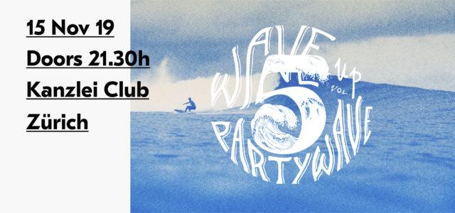Waveup Partywave Vol. 5 Flyer