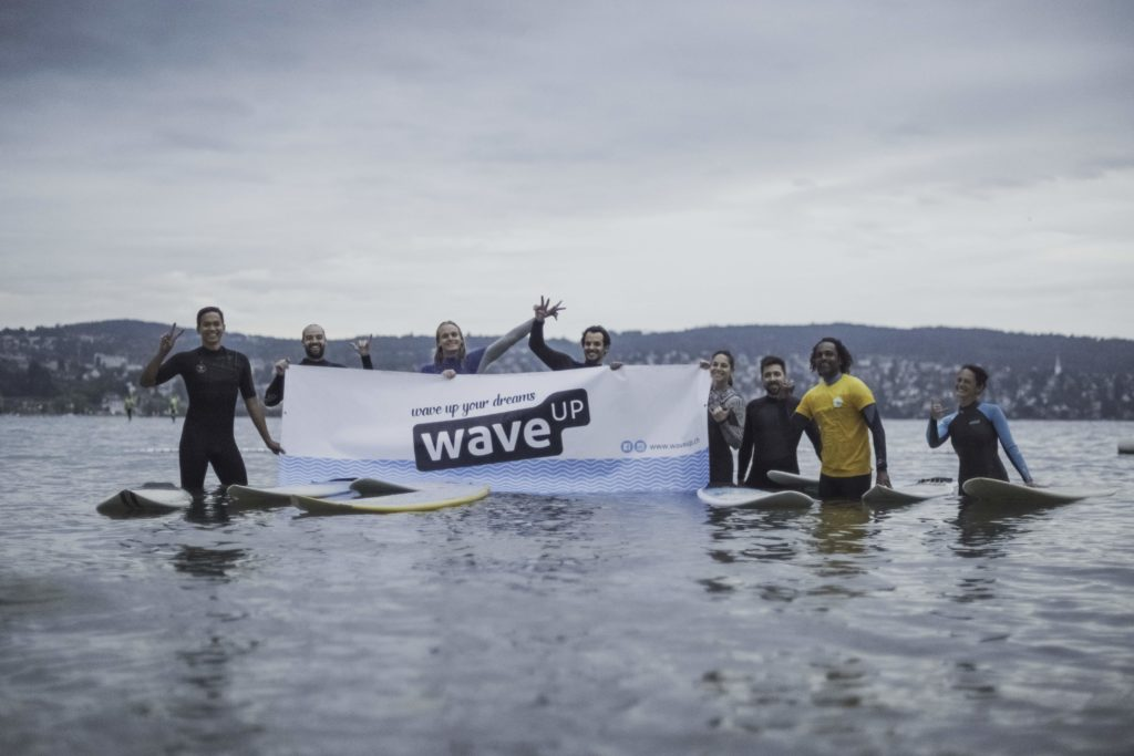 waveup bei Waves for Hope