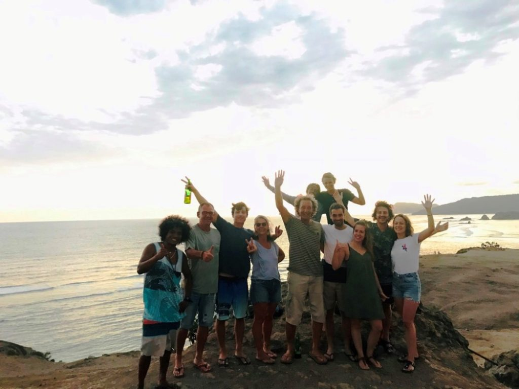 Gruppenfoto der Campbesucher