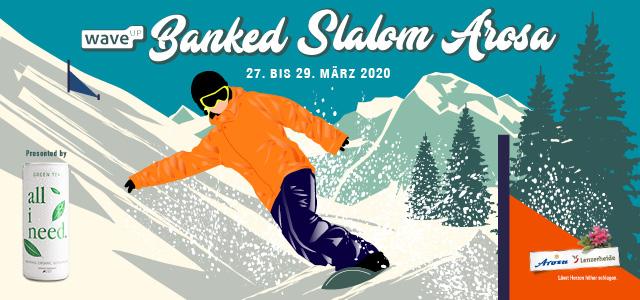 waveup Banked Slalom Arosa