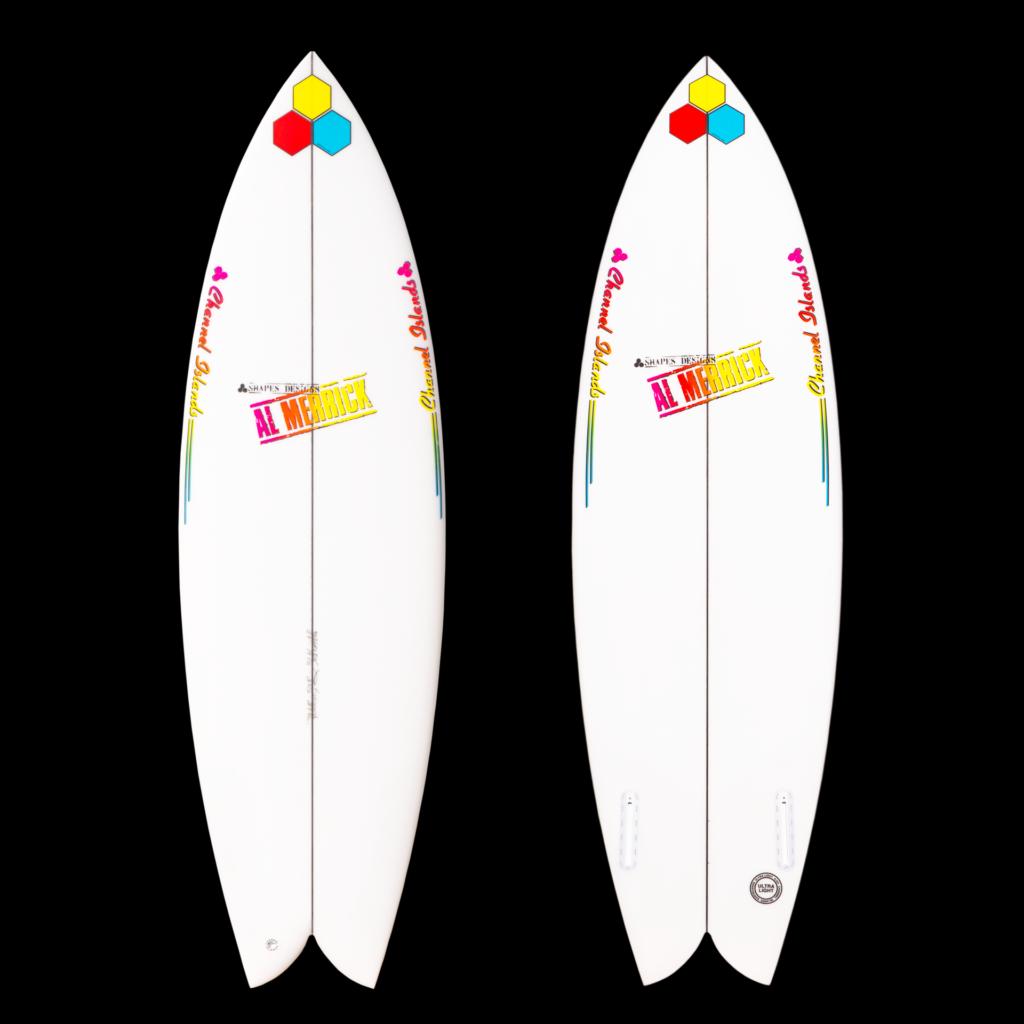 Fishbeard Color Surfboard