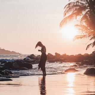 Stephy on the Beach