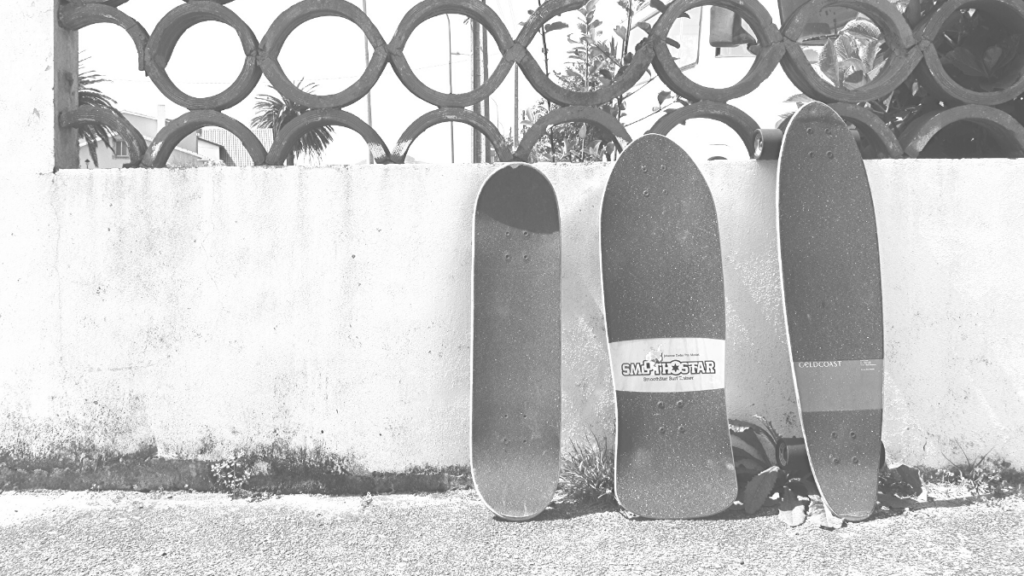 Verschiedene Skateboards im Überblick
