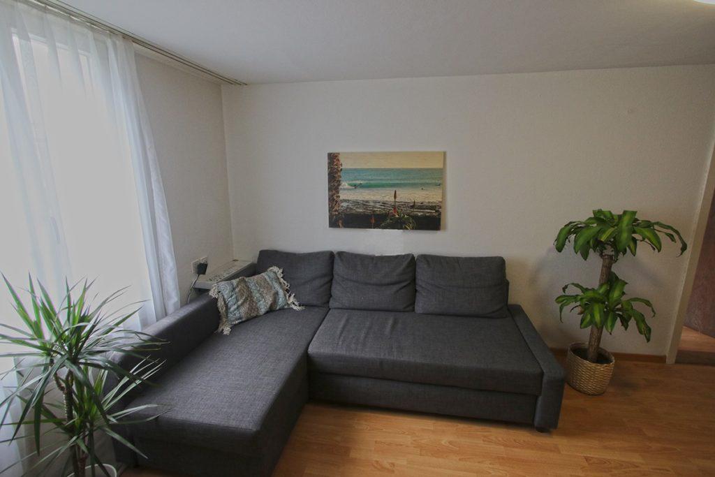 Pascals Wohnzimmer mit Bild