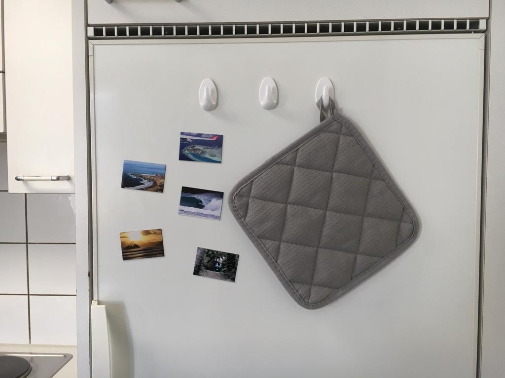 Magnete am Kühlschrank