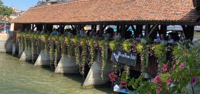RiverSurfJam Thun, Brücke
