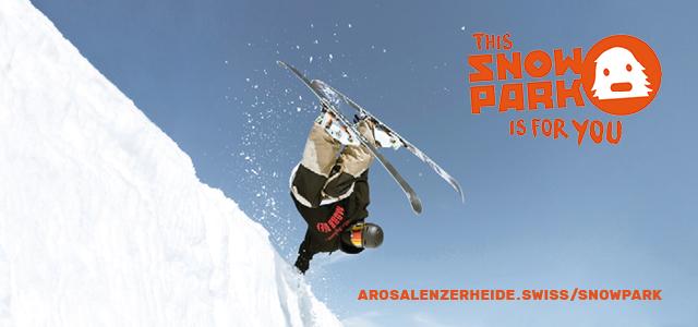 Skifahrer in der Halfpipe