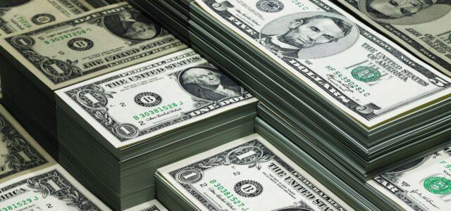 Cash Dollar Geldscheine